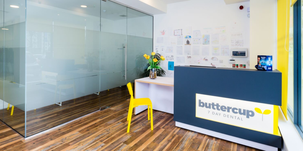 Buttercup dental reception